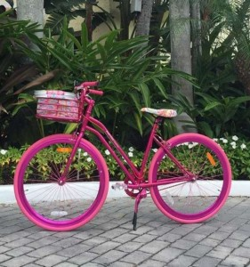 Lilly Pulitzer-bike from Shiny Sheet cropped
